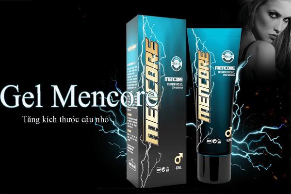 Gel tăng kích thước dương vật Mencore