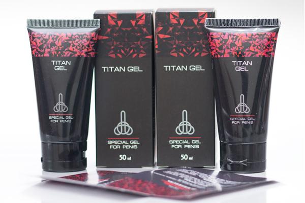 Gel tăng kích thước dương vật Titan Đỏ